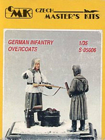 CMK 1:35 German Infantry Overcoast WWII 2 Resin Figures Kit #S35006 N/A CMK
