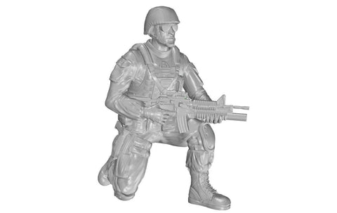 CMK 1:35 Kneeling Soldier On Right Knee US Infantry for M1126 Pt.1 Kit #F35322 N/A CMK