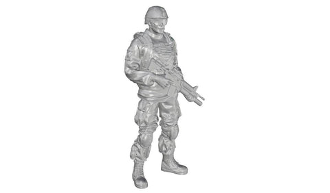 CMK 1:35 Commanding Officer Standing US Army Infantry for M1126 Pt.3 Kit #F35324 N/A CMK