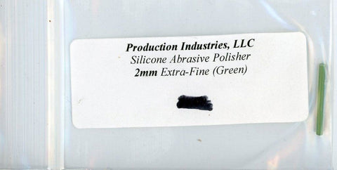 Production Industires LLC Silicone Abrasive Polisher 2mm Extra Fine Green #2cg N/A Production Industires LLC