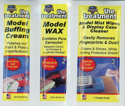 The Treatment Model Buffing Wax Displaly Case Cleaner 3 in 1 #210005 N/A The Treatment