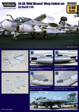 Wolfpack 1:48 EA-6A Intruder Wild Weasel Wing Folded for Revell Resin #WP48082