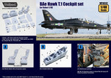 Wolfpack 1:48 BAe Hawk T.1 Cockpit Set for Italeri - Resin Detail #WP48142 N/A Wolfpack Design