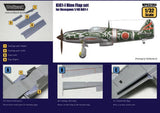 Wolfpack 1:32 WWII Ki-61-I hei Hien Flap Set for Hasegawa Kit - Resin #WPD32004 N/A Wolfpack Design