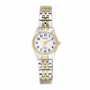 Armitron® Womens Two-Tone Adjustable Watch - Must Have Shoes and More