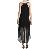 Bisou Bisou® Sleeveless Neck High-Low Dress - Must Have Shoes and More