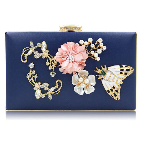 Butterfly Evening Clutch Handbag