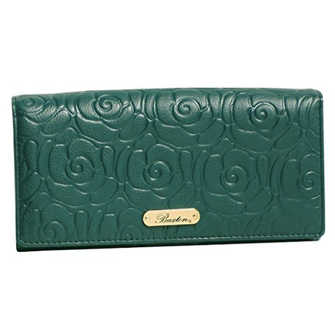 Buxton Rose Garden Expandable Clutch Wallet - Must Have Shoes and More