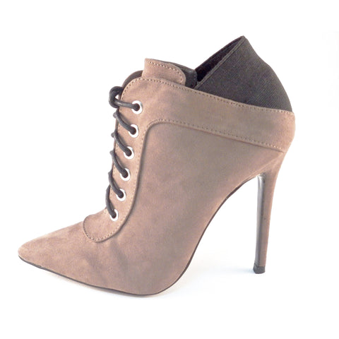 b7bafa99878 Shoe Republic LA Lace Up Pointy Toe Booties - Must Have Shoes and More