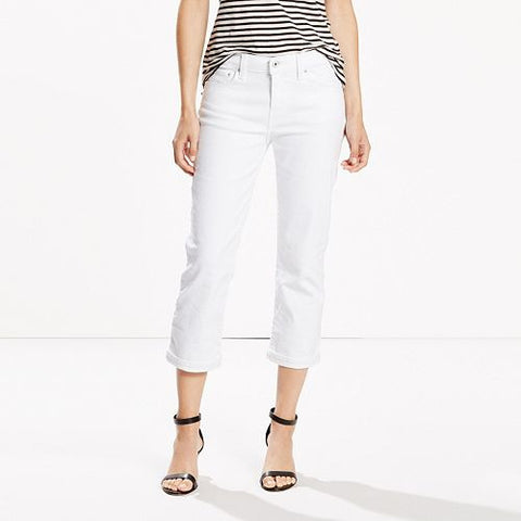 Levi's Classic Fit Cuffed Capri Jeans - Must Have Shoes and More