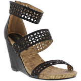 Casey Cutout Strappy Wedges - Must Have Shoes and More