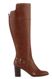 Liz Claiborne Alvis Heeled Riding Boots - Wide Calf, Wide Width - Must Have Shoes and More