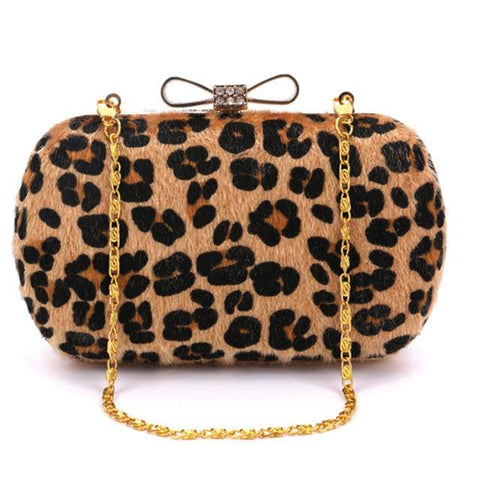 9407ef99438 Charming Leopard Mini Evening Clutch - Must Have Shoes and More