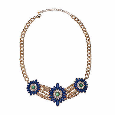 Mixit™ Peacock Statement Necklace - Must Have Shoes and More