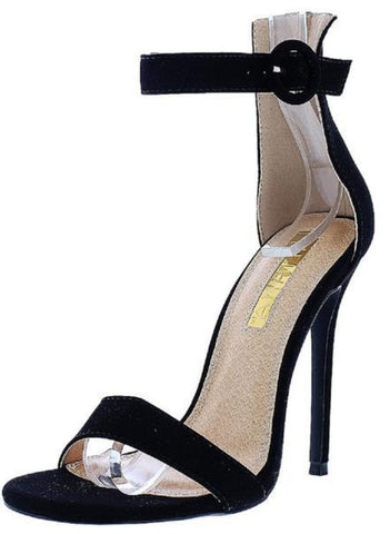 c10e0d1d9cb OPEN PEEP TOE STILETTO ANKLE STRAP HIGH HEEL - Must Have Shoes and More