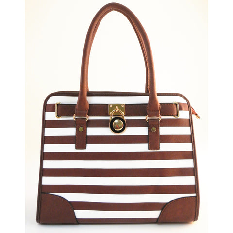 Pecan Brown Tote Handbag - Must Have Shoes and More