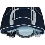 Picnic at Ascot Large Insulated Picnic Tote for Two Navy White - Must Have Shoes and More