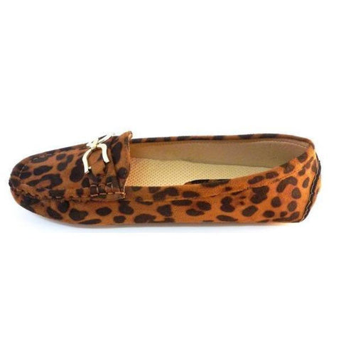 a9b6d3689ae Pierre Dumas Leopard Print Loafers Flats - Must Have Shoes and More