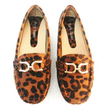 Pierre Dumas Cheetah Print Loafers Flats - Must Have Shoes and More