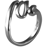 Silver-Plated Squiggle Ring - Must Have Shoes and More