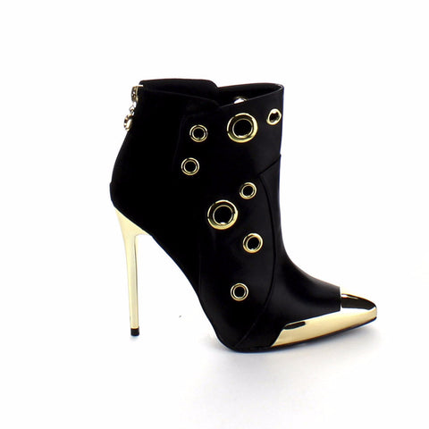 ab4c07c1222 Wild Rose Pointy Toe Ankle Boots – Must Have Shoes and More