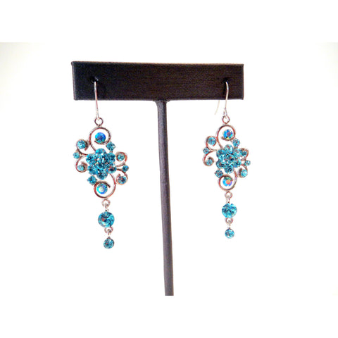 Crystal Rhinestone Korean Earrings - Must Have Shoes and More