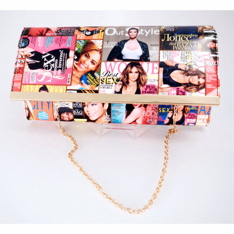 Fashion Magazine Clutch Bag - Must Have Shoes and More