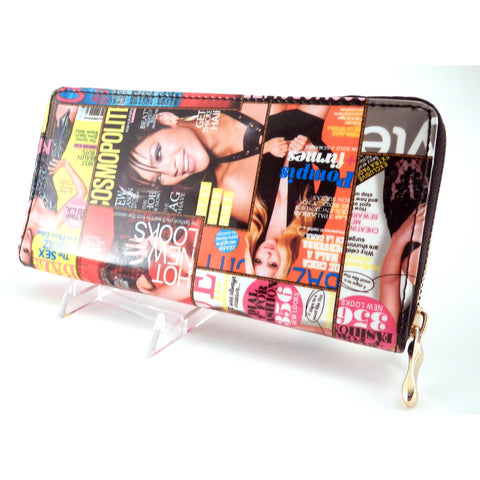Copy of Magazine Celebrity Clutch Wallet - Must Have Shoes and More