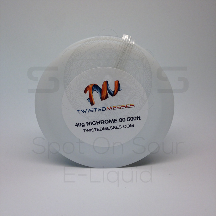 VAPE Tẩu Điện Tử - Vape Coil Wrap Wires Twisted Messes Nichrome 80 40g 42g 500ft - Dây quấn coil vape Twisted Messes Nichrome 80 40g 42g 500ft