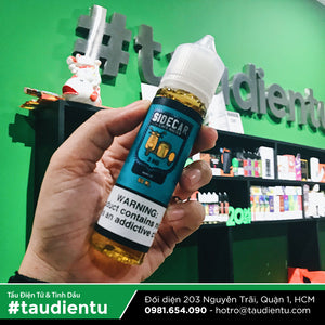 VAPE Tẩu Điện Tử - Cafe Racer Side Car Berry Ice Freebase