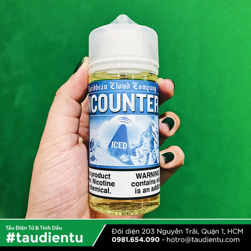 VAPE Tẩu Điện Tử - Caribbean Cloud UFO Encounter Iced