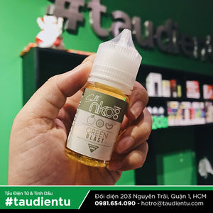 VAPE Tẩu Điện Tử - Vape E-liquid Nicotine Salt NKD Naked 100 Green Blast USA (Apple, Kiwi, Honeydew Melon, Whipped cream)