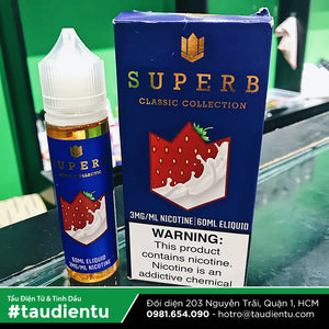VAPE Tẩu Điện Tử - Superb Strawberry Milk