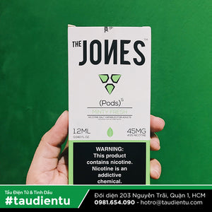 VAPE Tẩu Điện Tử - Vape Pod Refillable & Disposable The Jones for Juul - Minty Fresh