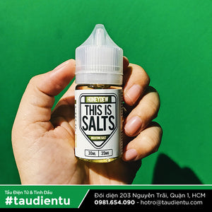 VAPE Tẩu Điện Tử - This Is Salts Honeydew Salt Nic