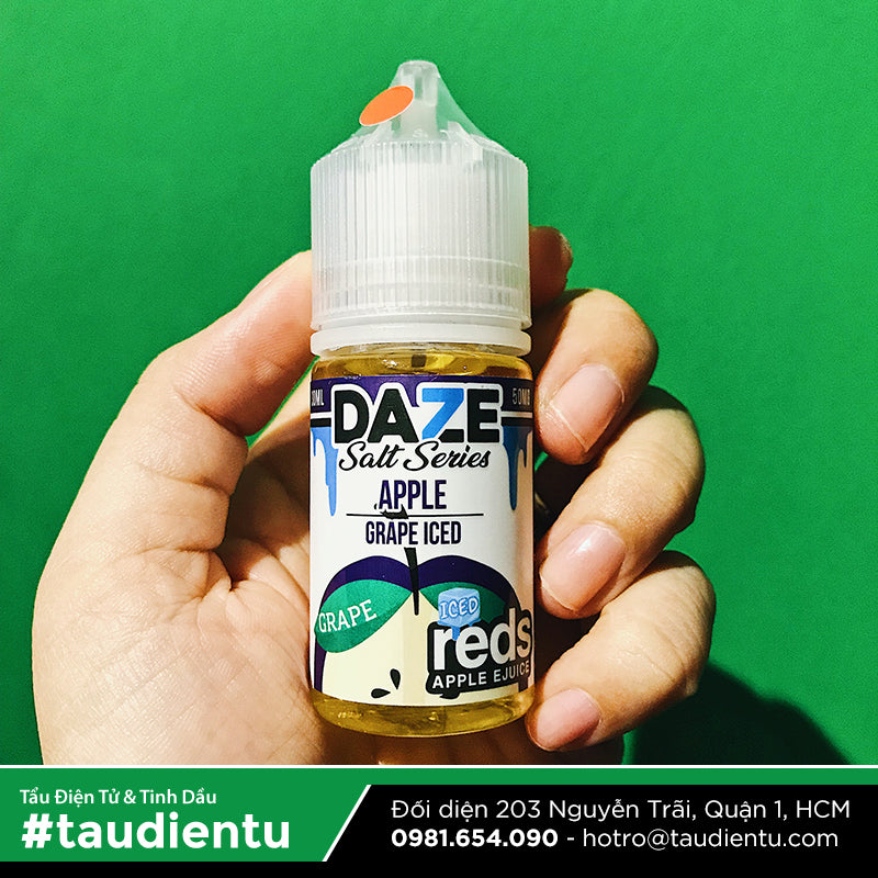 VAPE Tẩu Điện Tử - Reds Apple Ejuice Grape Iced Salt Nic