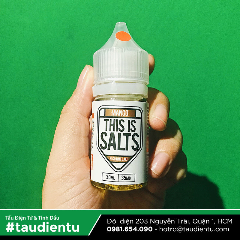 VAPE Tẩu Điện Tử - This Is Salts Mango Salt Nic