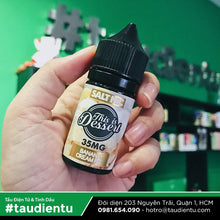 VAPE Tẩu Điện Tử - This Is Dessert Banana Cream Pie Salt Nic