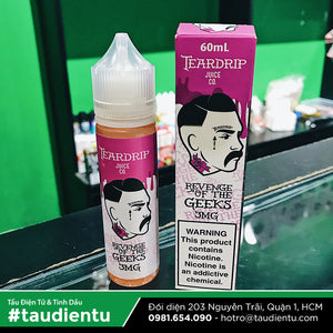 VAPE Tẩu Điện Tử - Teardrip Revenge of the Geeks