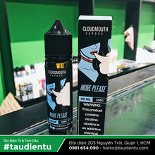 VAPE Tẩu Điện Tử - Cloudmouth Vapors More Please