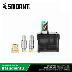 Coil Pasito Cartridge Vape Hút Salt Nic 1.4Ohm & Freebase 0.6Ohm