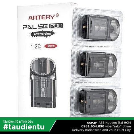 U Hút Pod Rng Thay Th Artery Pal Se Vape Refillable Replacement Empty Pod Salt Nic 2Ml 1.2Ohm