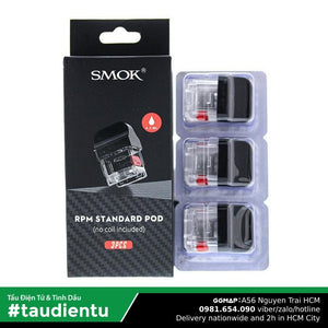 U Hút Rng Thay Th Tu Vape Smok Rpm40 Rpm Refillable Empty System Pod Châm Tinh Du T Freebase 4.3Ml