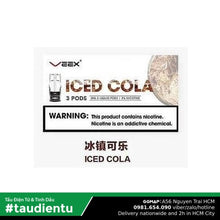 U Pod V Cola The Mát Relx Veex Iced Vape System Refillable Disposable Pod Hút Salt Nic 2Ml 30Mg 3%