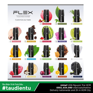 U Vape Tinh Du V Cà Phê Tu Flex Pod System Juice Eliquid Royalo Coffee Hút Salt Nic 2Ml 30Mg 3.5%