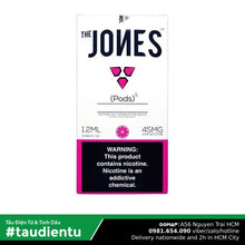 U Vape Tinh Du V Dâu Tu Juul Pod System The Jones Strawberry Pink Juice Eliquid Hút Salt Nic 1.2Ml