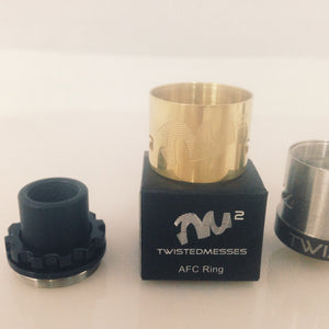 VAPE Tẩu Điện Tử - AFC Ring Twisted Messes 2 Gold AF