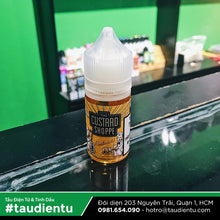 VAPE Tẩu Điện Tử - The Custard Shoppe Butterscotch Salt Nic