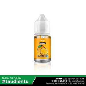 Tinh Du Tu V Cam The Mát M Orgnx Usa Juice Eliquid Ice Orange Hút Salt Nic 50 30Ml Vape