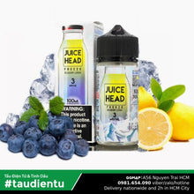 Tinh Du Vape M V Chanh Vit Qut The Mát Chua Ngt Juice Head Freeze Eliquid Iced Blueberry Lemon Hút